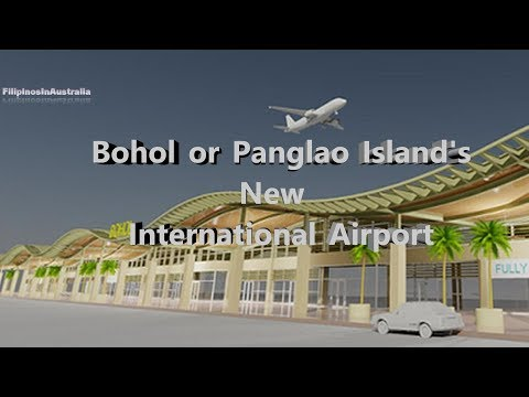 Bohol or Panglao Island's new International Airport