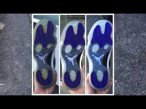 How to unyellow your Jordan 11 icy soles