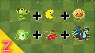 Plants vs Zombies Fusion Epic Hack Animation - Episode 5 - (PACMAN + DRAGON + PEASHOOTER )