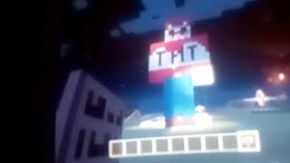 Exploding TNT