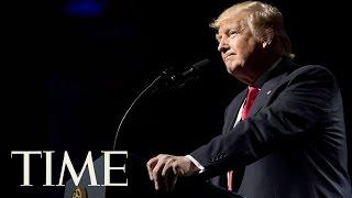 "President Trump Calls Elizabeth Warren ""Pocahontas"" At NRA Convention | TIME"