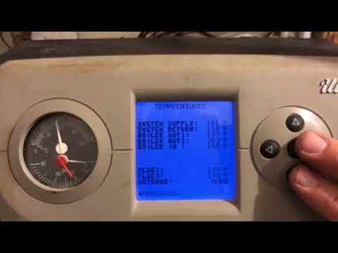 Weil McLain Ultra 3 - High Temperature Lockout Error - YouTube