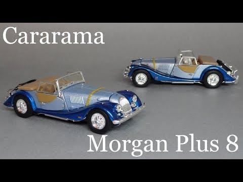 Morgan Plus 8 (1:43) Cararama / Schuco Junior Line - Обзор масштабной модели