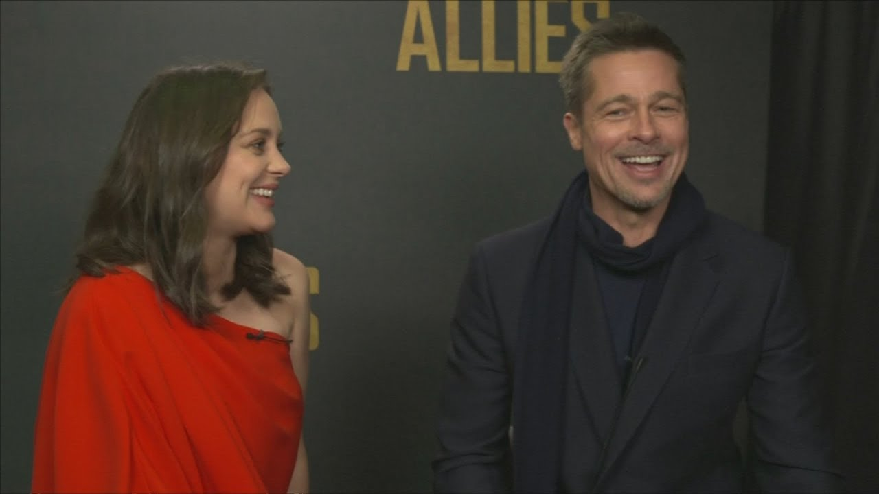 Brad Pitt And Marion Cotillard On Love And Trust In Allied Youtube