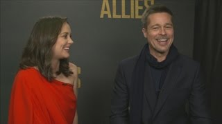 Brad Pitt and Marion Cotillard on 'love and trust' in Allied