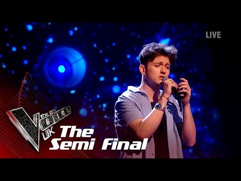 Jimmy Balito's 'Fix You'   The Semi Finals   The Voice UK 2019