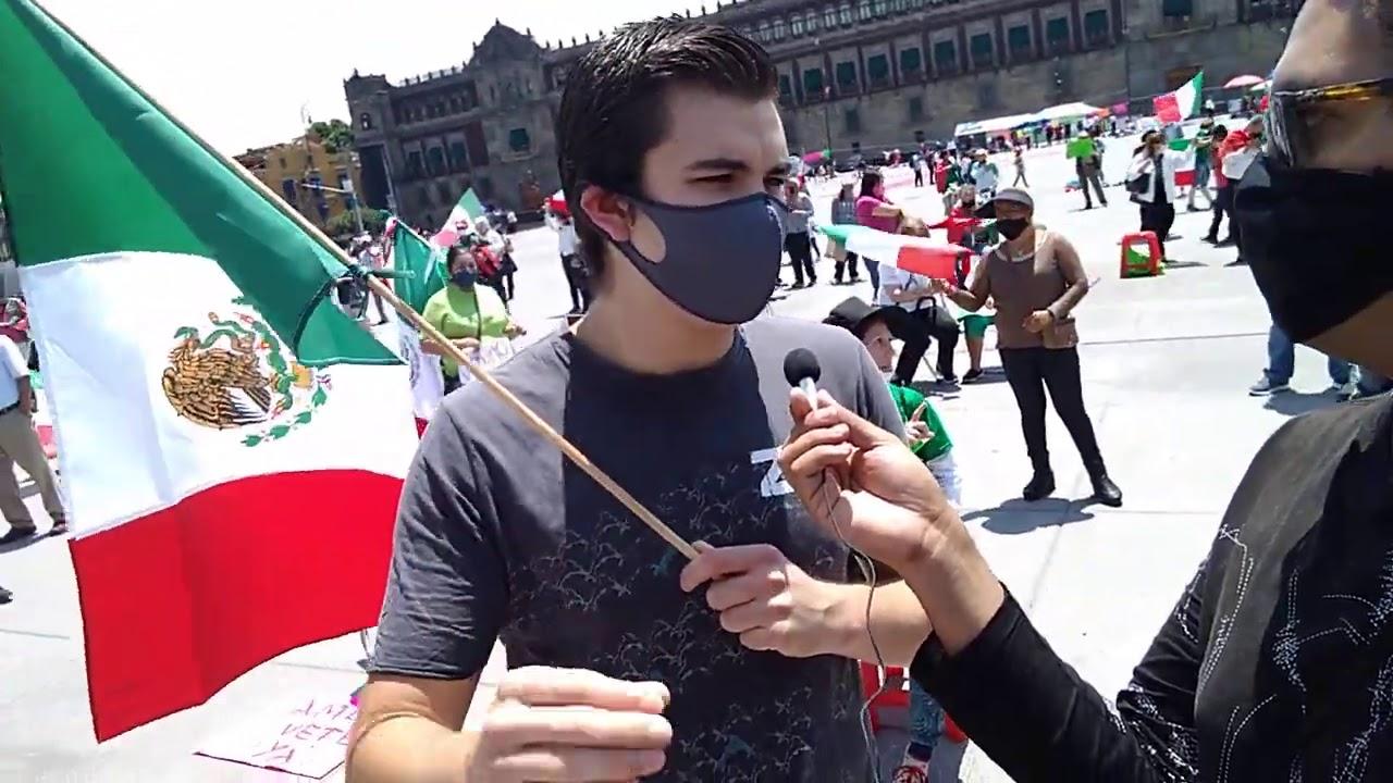 Joven de 21 años esta en Contra de AMLO Traicionó al Pueblo de México