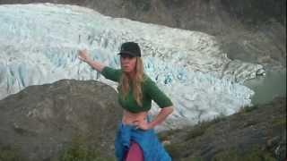 Explore Mendenhall Glacier, Juneau, Alaska after a long, hot hike with WildWomanOutdoors.com