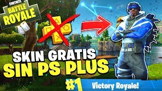 HAVE FREE SKIN WITHOUT PS PLUS! FORTNITE Battle Royale Blue ARIETE FREE!