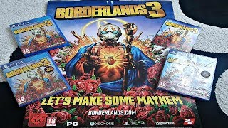BORDERLANDS 3 - Unboxing Video + Epic Poster