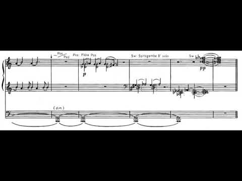 Alfred Schnittke - Two Little Pieces for Organ (1980) [Score-Video]