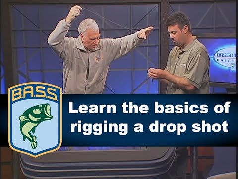 Drop shot rigging basics