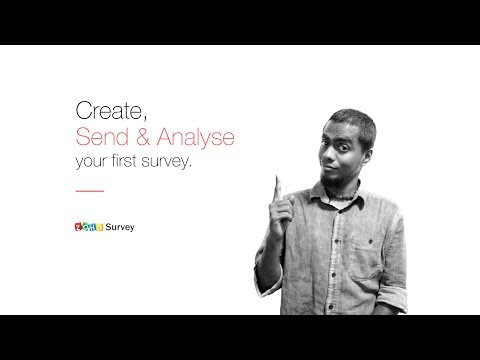 Zoho Survey: Create, Send and Analyse your First Survey