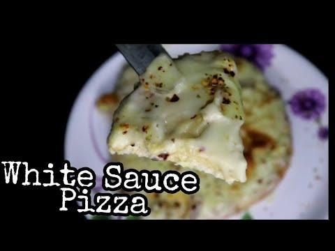 Alfredo Pizza | Alfredo Sauce Pizza | White Sauce Pizza | Homemade | Easy Recipe