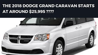 2018 Dodge Grand Caravan Review - NEW CAR 2018