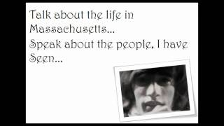Bee Gees Massachusetts Lyrics Video [HQ]