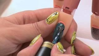 Kaya Cardwell - Gelaze® Precious Stones Nail Art Designs