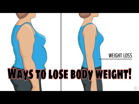 HOW TO LOSE WEIGHT FAST + 5 WAYS TO REMOVE BELLY  FATS (2020) / Philippines / Angeleca Gelacio