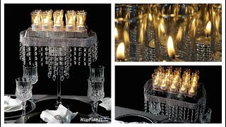 Candle Glam Wedding Centerpiece / DIY / How to Create This Candle Glam Wedding Centerpiece