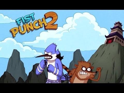 Regular Show - FIST PUNCH 2 [Cartoon Network Games]