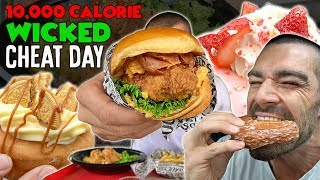10,000 Calories Of Fun | Wicked Cheat Day #74