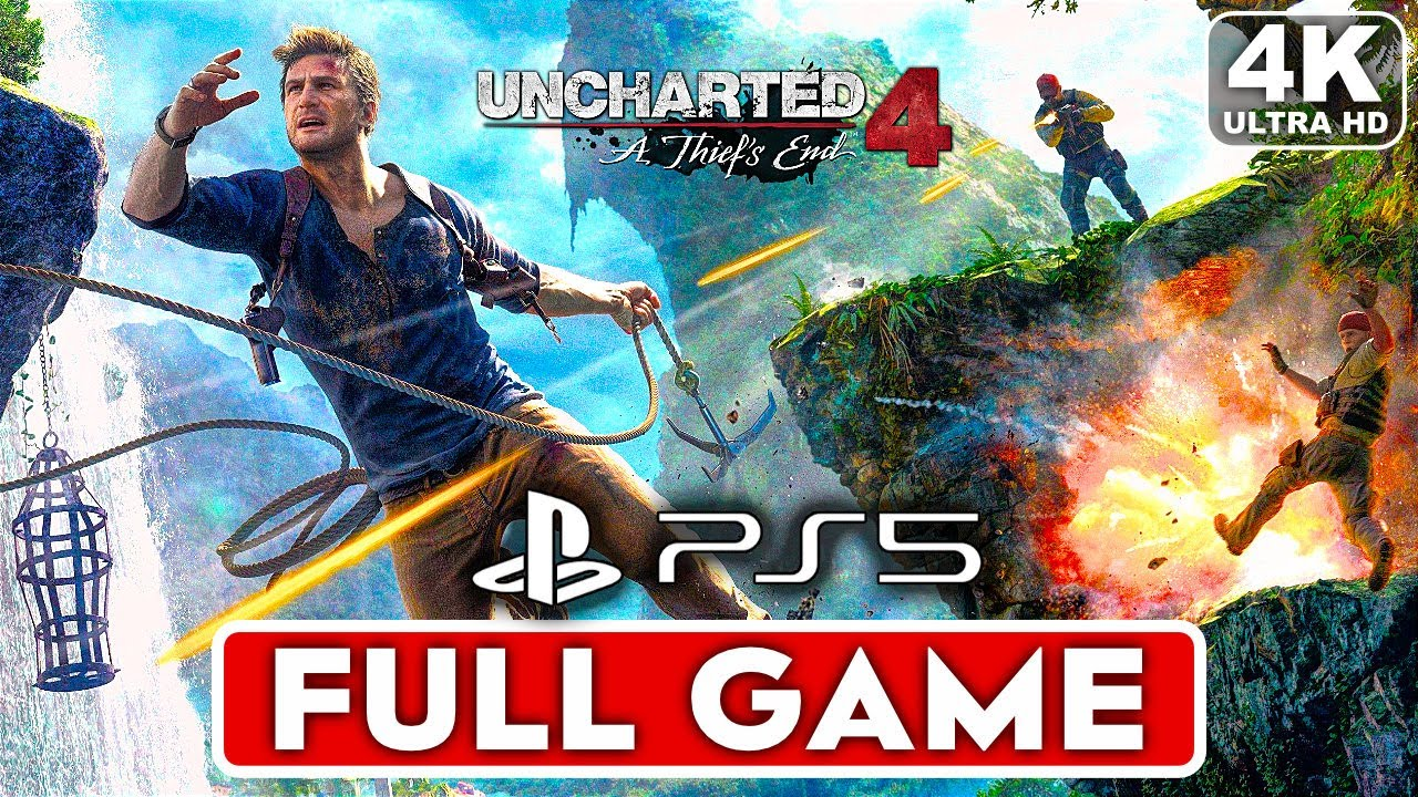 UNCHARTED 4 PS5 Gameplay Walkthrough Part 1 FULL GAME [4K ULTRA HD] - No Commentary
