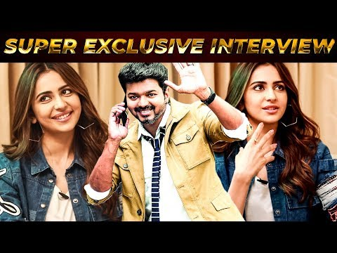 """I Want to Work With Thalapathy Vijay"", He Is Evergreen & Looks the Same - Rakul Preet Opens Up !!"