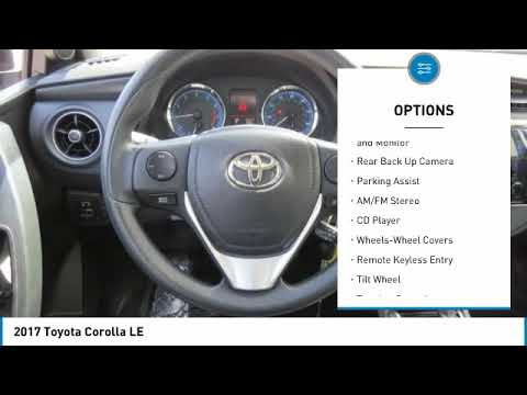 2017 Toyota Corolla Gastonia NC 12953P