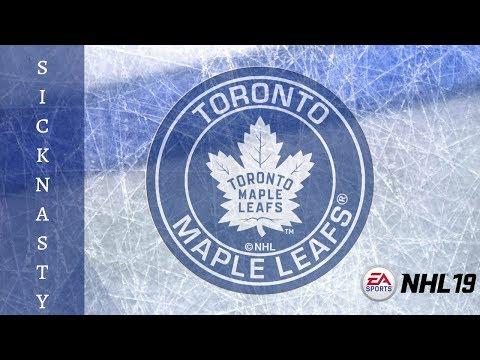 NHL 19 Toronto Maple Leafs Franchise OPENING NIGHT + SIMULATION