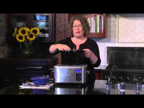 Медленноварка Cuisinart 4Quart Programmable Slow Cooker PSC-400