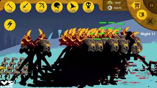 Stick War Legacy Endlles Mode Zombie APK 2018: HACK UNLIMITED GEMS FHD # Night 7