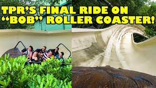 "TPR's Final Ride on ""Bob"" Roller Coaster at Efteling! 4K Front Seat POV"