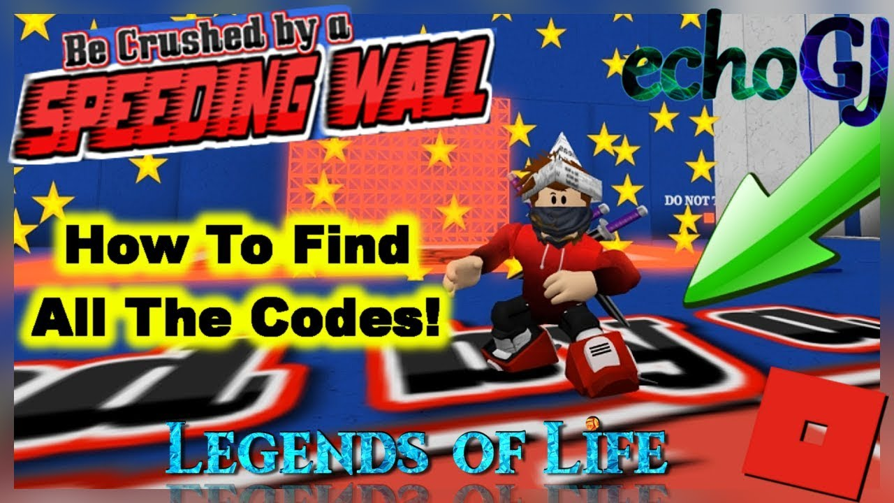 How To Find All The Codes Be Crushed By A Speeding Wall Read