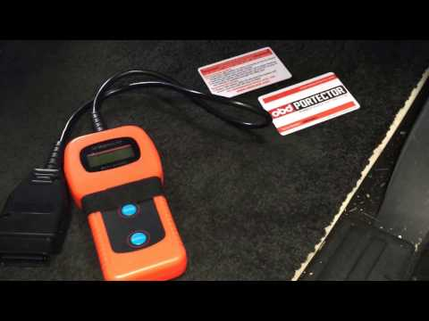 obd Portector operation - award winning obd port security system as featured on the BBC