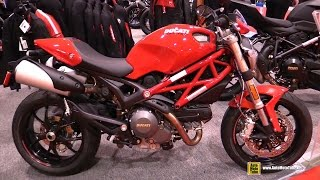 2014 Ducati Monster 796 ABS - Walkaround - 2015 Toronto Motorcycle Show