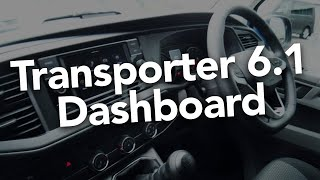 VW Transporter T6.1 Dashboard - IN DEPTH with California Chris