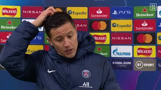 Ander Herrera Reacts To PSG's Champions League exit to Manchester City