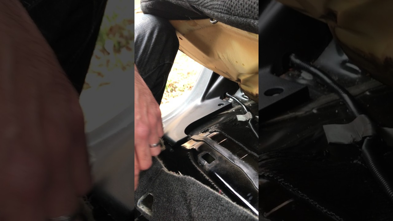 2009 Honda Accord How To Replace Rear Seat Bottom Locking Clips Seats