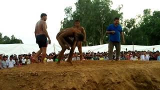 कैलसा बॉर्डर पर हुई कुश्ती    नेपाल का पहलवान