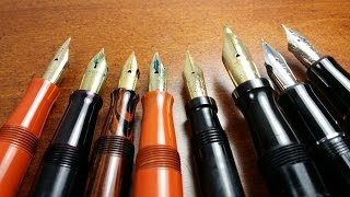 tips for buying vintage flex fountain pens on ebay