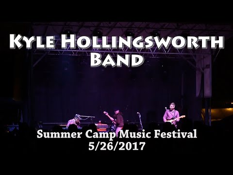 Kyle Hollingsworth Band - Peregrino - Summer Camp Music Festival 2017