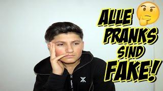 ALLE PRANKS VON ALEXV UND MIR SIND FAKE...!!?