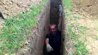 Глубокий фундамент 2м глубина(, 2014-06-15T14:33:42.000Z)