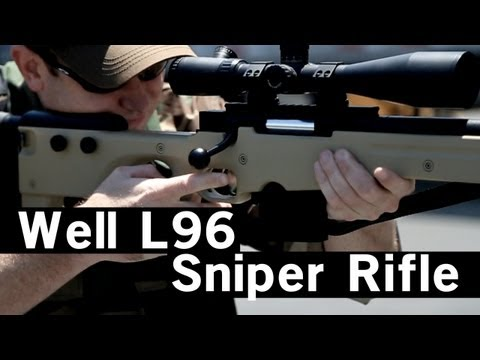 Airsoft GI - Well L96 Compact Bolt Action Spring Sniper Rifle