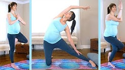 Prenatal Yoga to Open Hips & Nourish the Spine,  30 Minute Class, Beginners, Flexibility & Strength