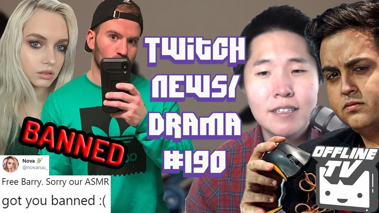 OfflineTV Scammed Pokelawls, xQc AmongUs Rage at Toast, ASMR Barry74 Ban - Twitch Drama/News #190