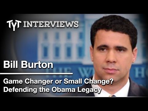 Cenk Uygur Interview w/ Former White House Spokesman Bill Burton