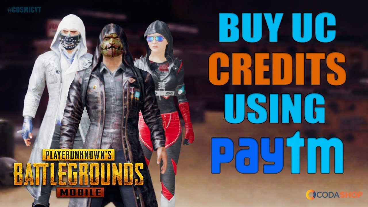 How to buy UC in Pubg Mobile with PAYTM | Codashop