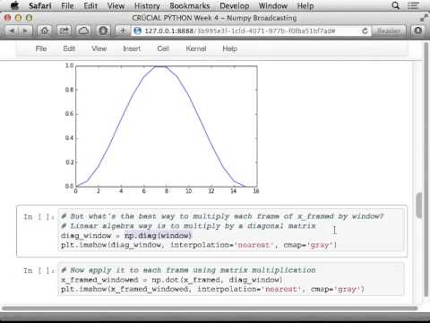 Two cool features of Python NumPy: Mutating by slicing and