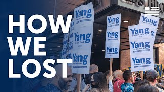 How we lost--and where we're going | Andrew Yang | Yang Speaks
